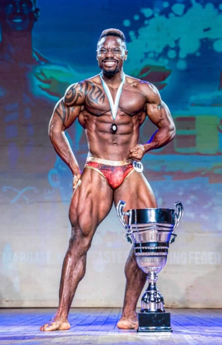 Gabriel Oryianka Overall pure elite winner muscle model