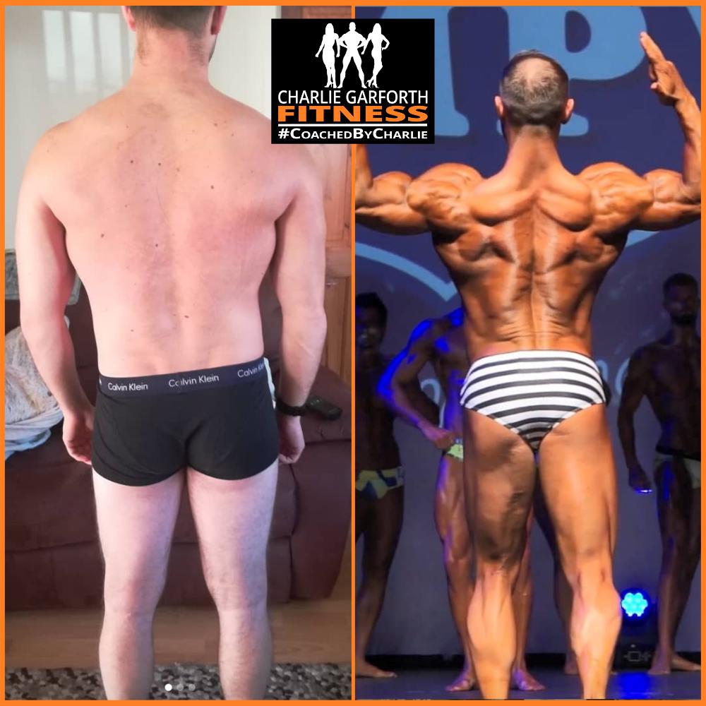 Online Coaching transformation muscle model
