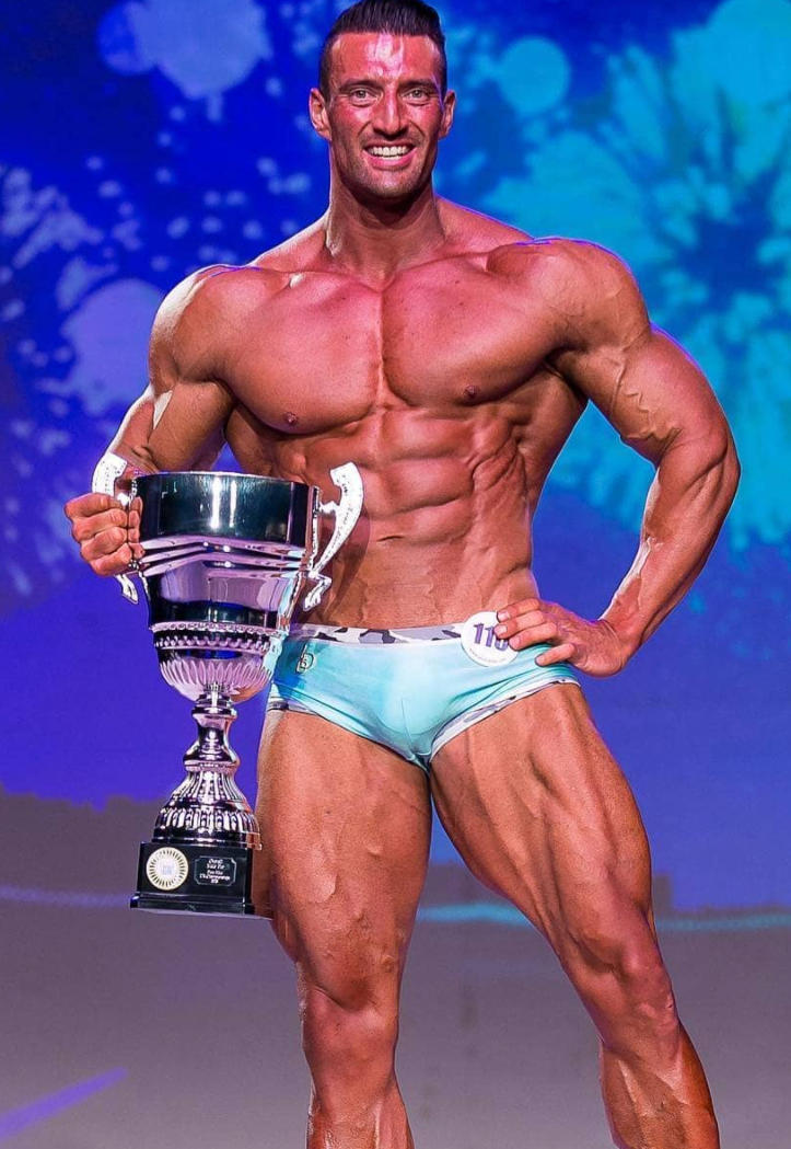 Big Granty Overall Pure Elite Muscle Model comp prep coaching transformation