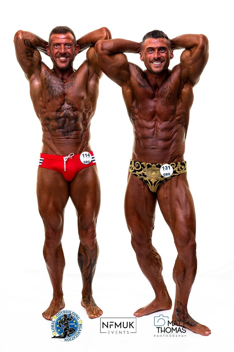 Sion Evans & Paul Remmer Coached By Charlie Comp Prep Champions