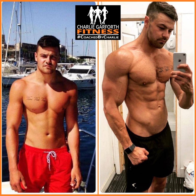 Mens Classic physique bodybuilding coaching transformation