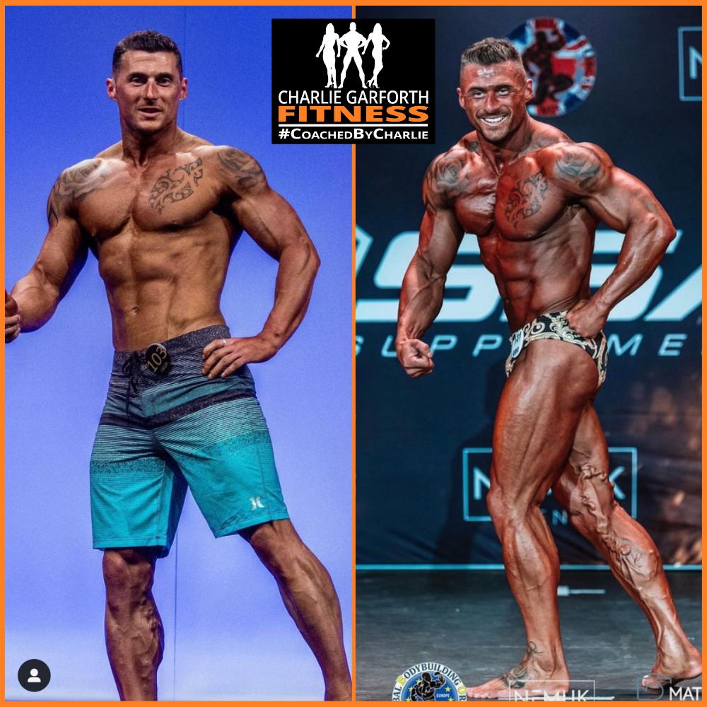 Classic physique bodybuilding prep coach transformation