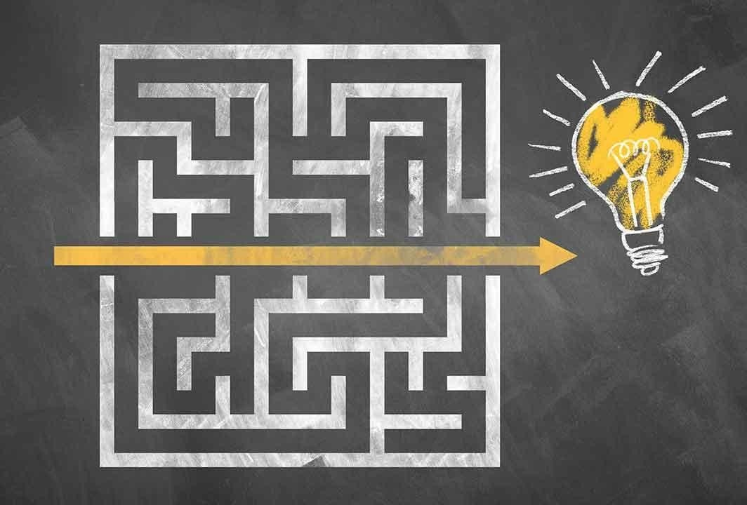 Create a course to break through the maze of frustration