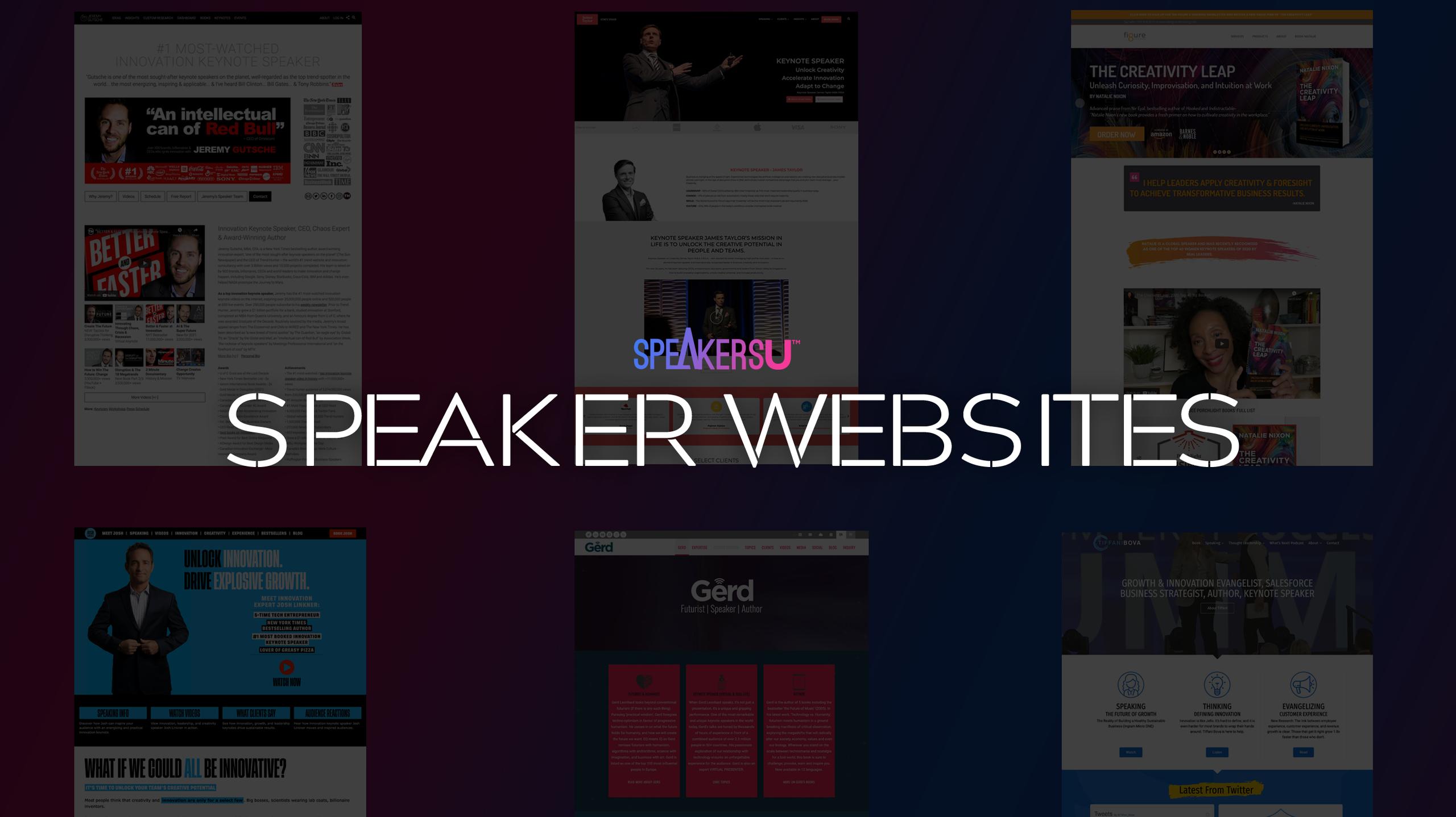 How To Design Speaker Website