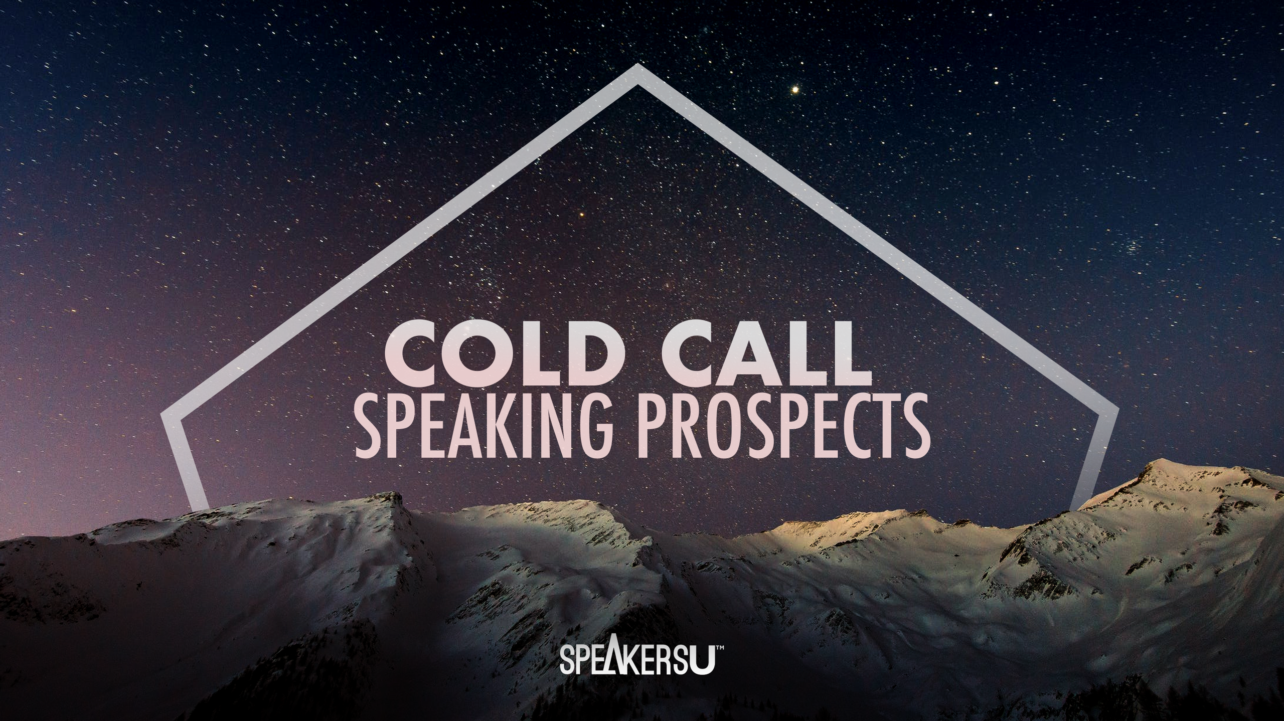 How To Cold Call Speaking Prospects