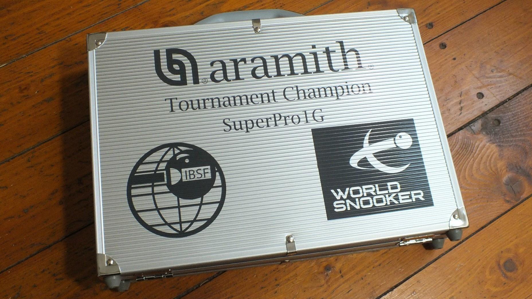 Aramith 1G Superpro World Champion Match Professional Snooker Balls in Case