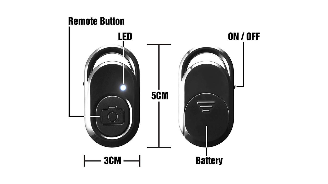Bluetooth Camera Remote Shutter Control
