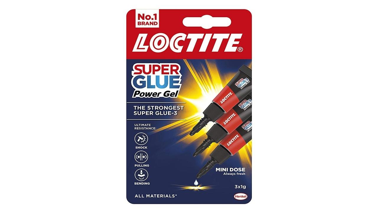 Loctite Gel Super Glue 3x1g Single Usage Tubes