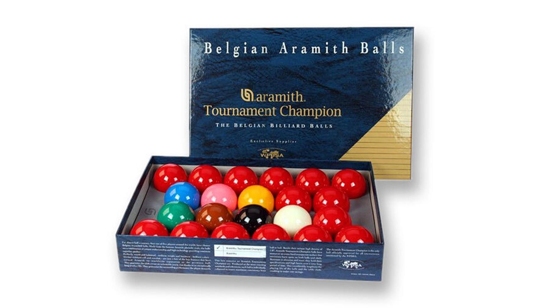 Aramith Tournament Champion Full Size Snooker Ball Set