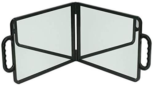Hairdressers Bi-Vision double folding mirror