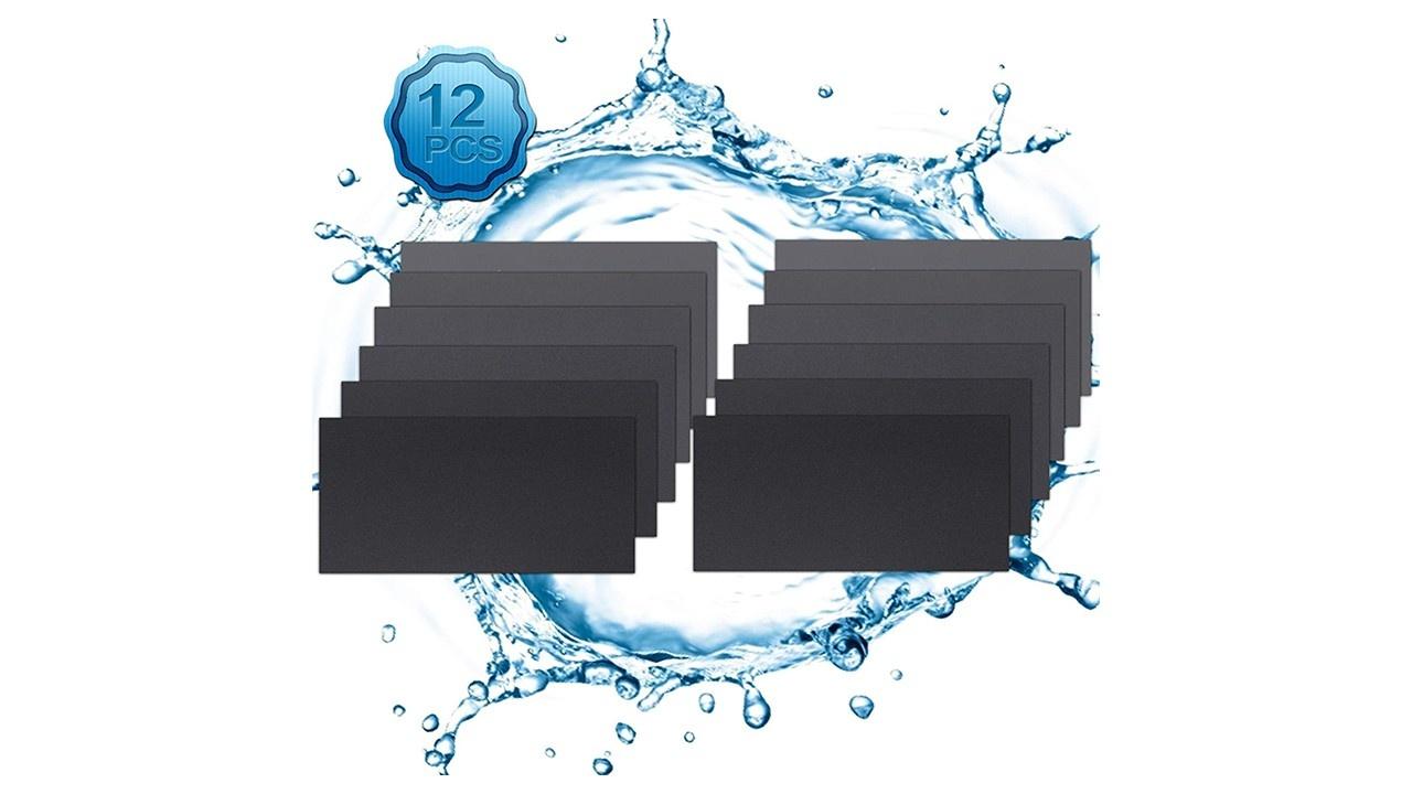 Wet & Dry Waterproof Emery Paper