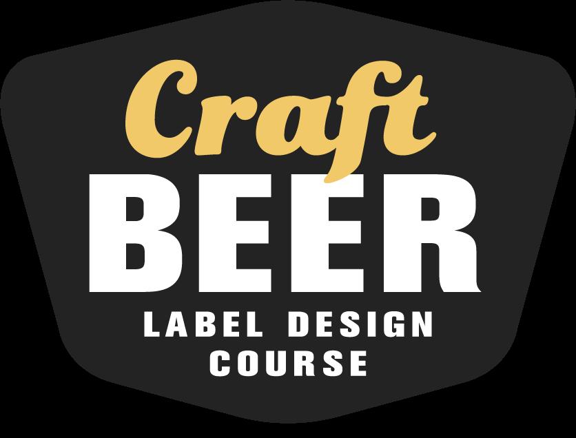 Craft Beer Label Design Course Logo