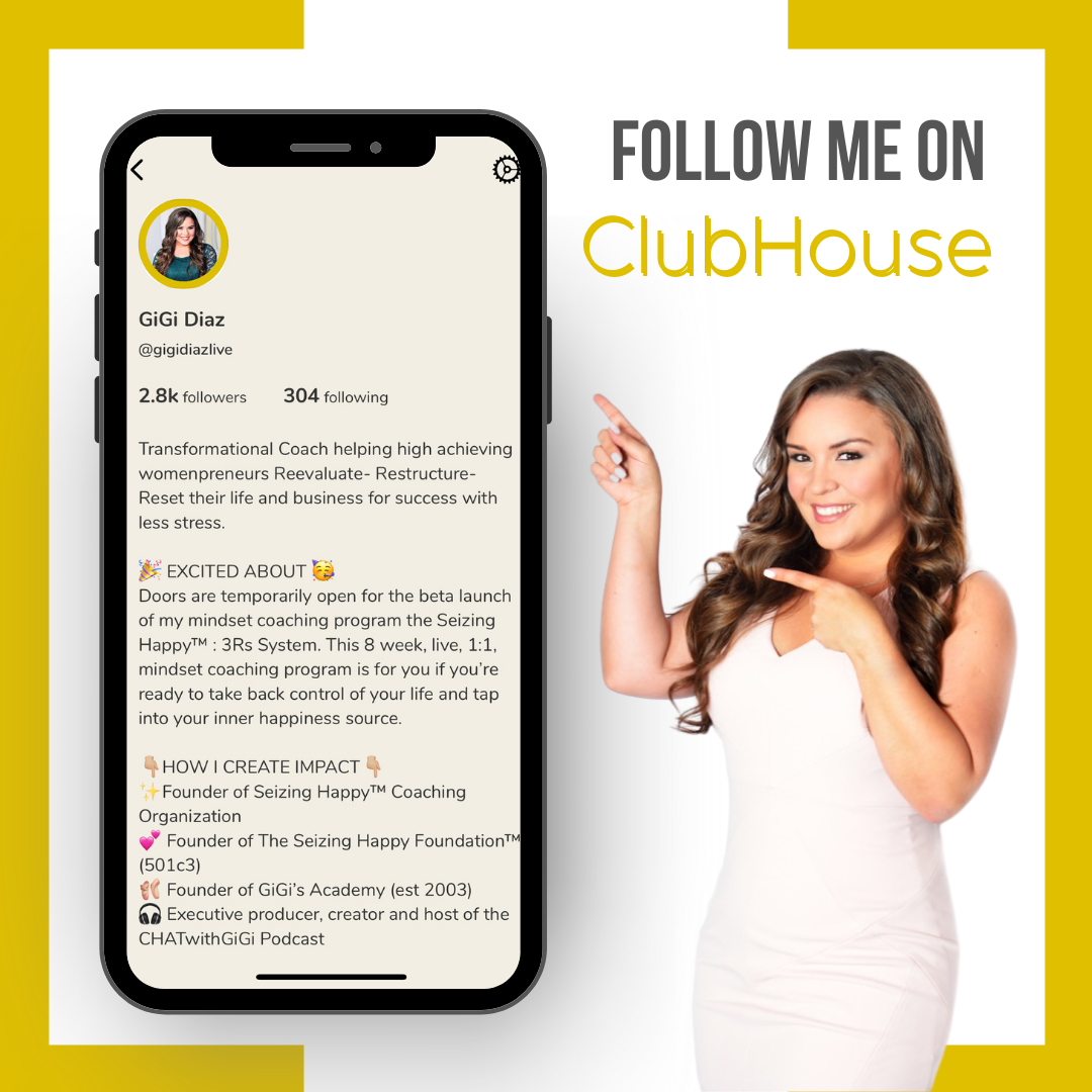 Clubhouse - @gigidiazlive
