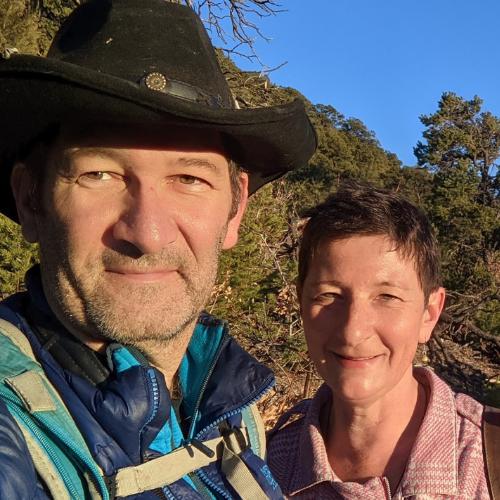 Dr. Florian Birkmayer & Cathy Skipper