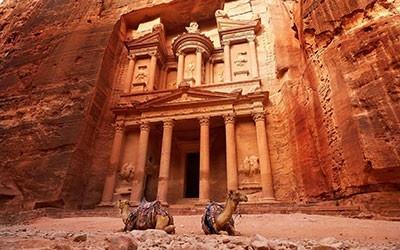 Secret ruins of Jordan