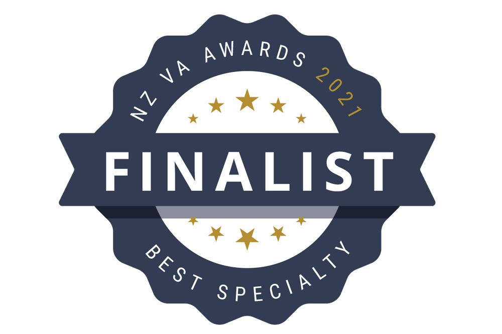 Finalist in the NZ Virtual Assistant Awards