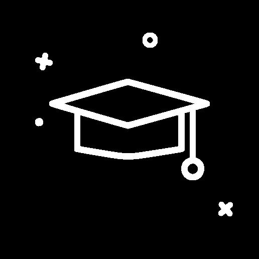 illustration of a square academic cap