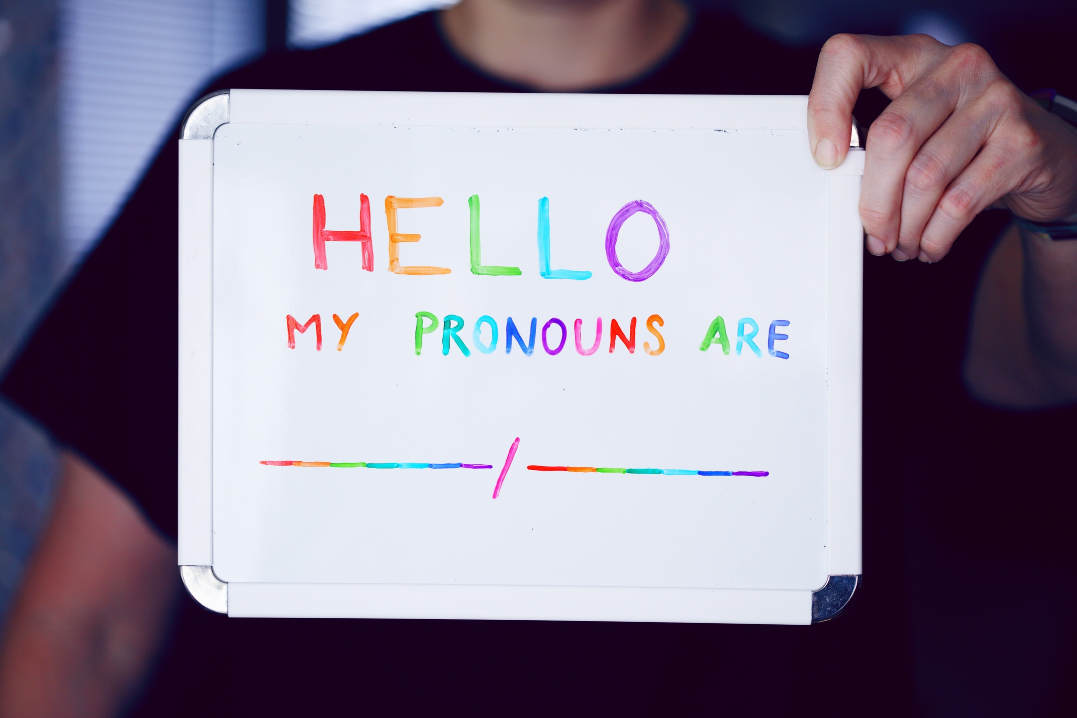 My pronouns are