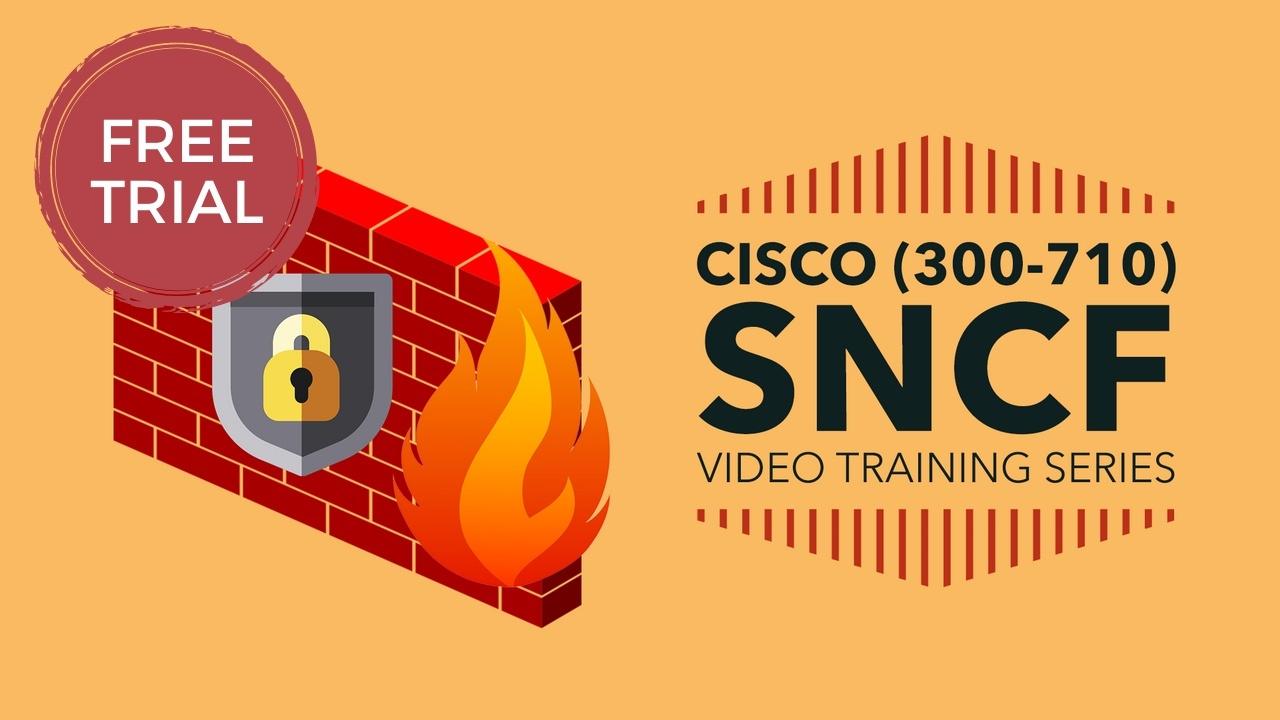 Free Sample - SNCF (300-710) Video Training Series