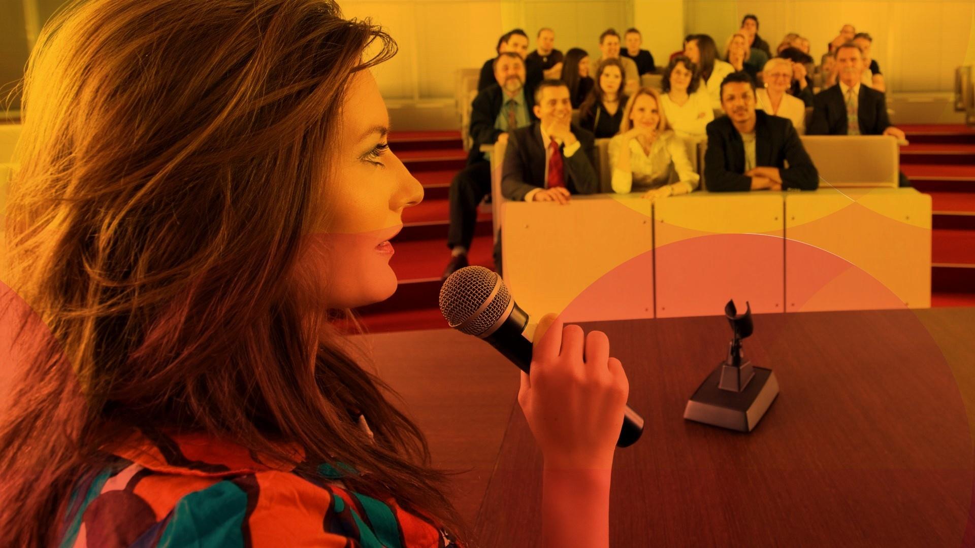 Presentation and public speaking