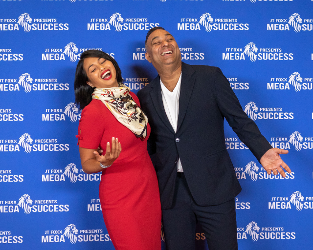 Diana Gremillion Mega Success Conference Panelist Russell Peters