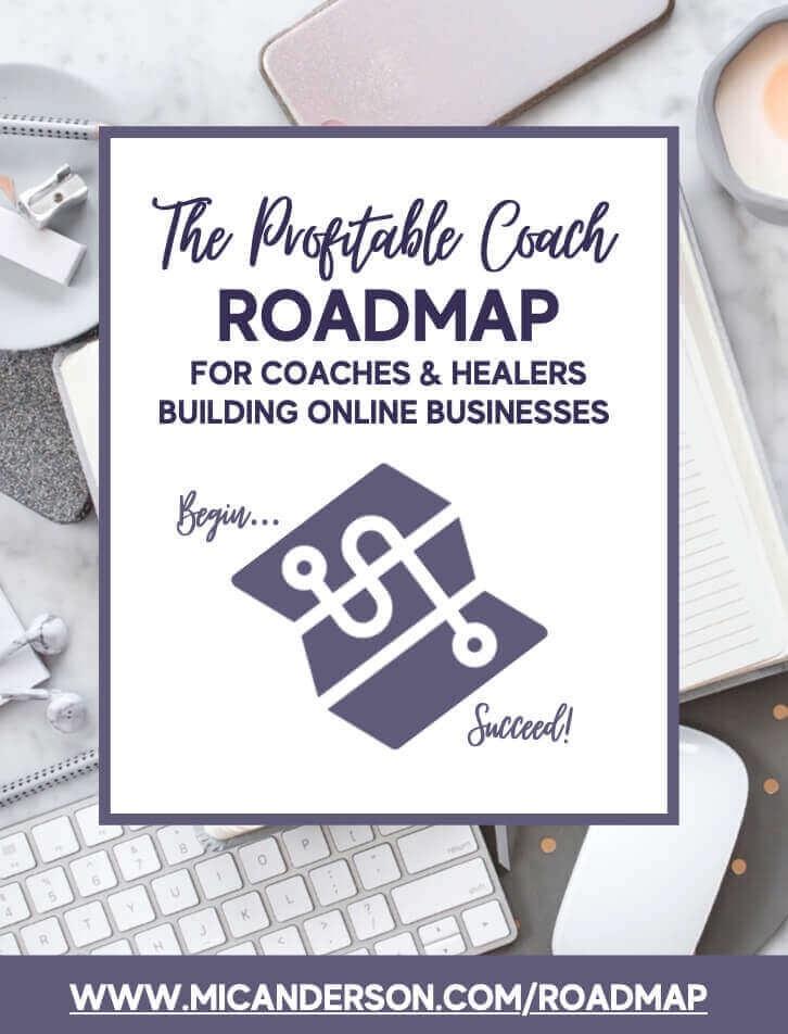 business coach healers coaches marketing roadmap