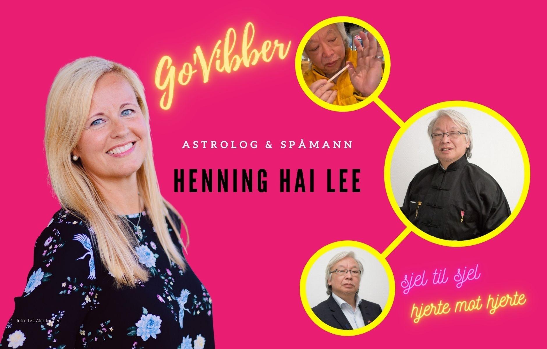 Hva sier stjernene om Norges spåmann Henning Hai Lee?