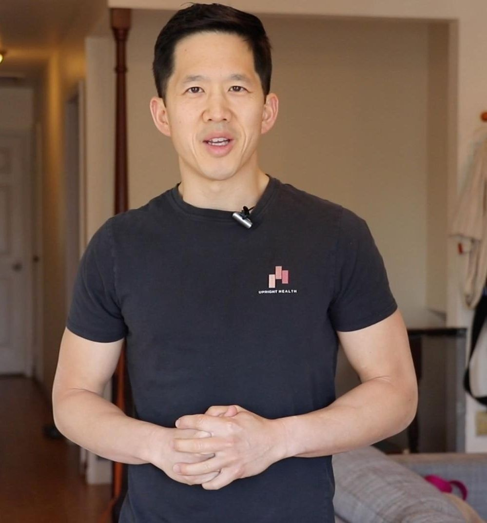 Matt Hsu, Founder of Upright Health and creator of Anterior Pelvic Tilt Fix
