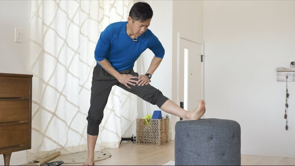 hamstring stretch for APT