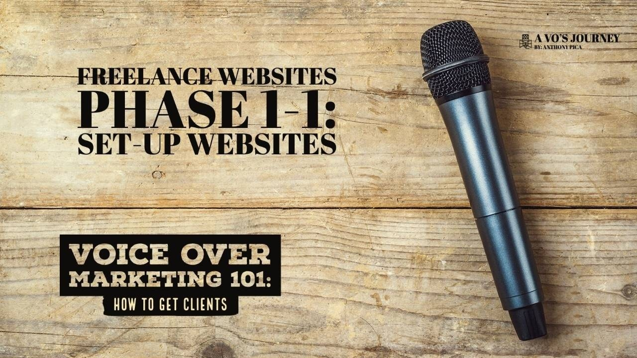 Freelance websites for voice over