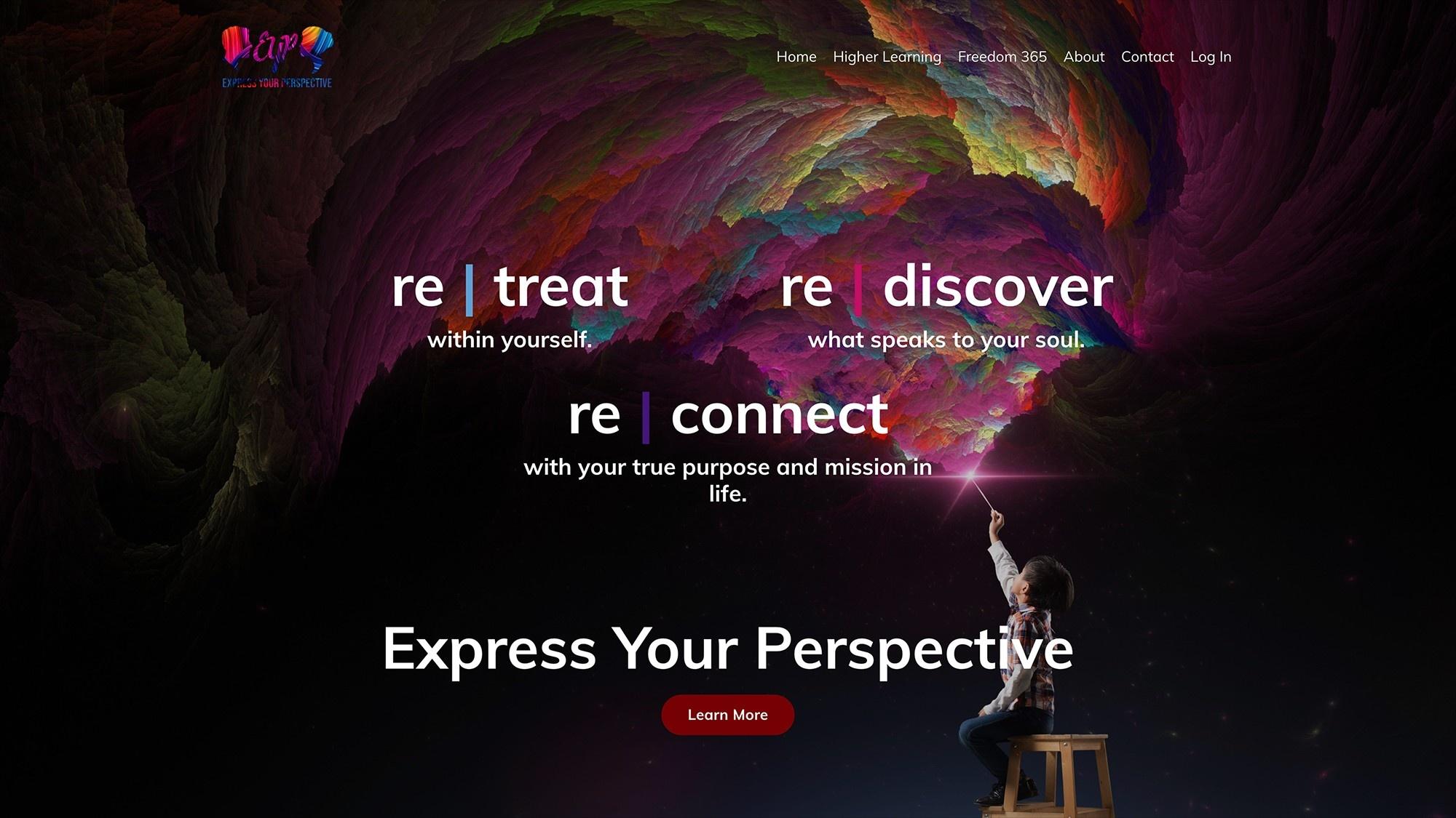 EYP Website Built on Kajabi