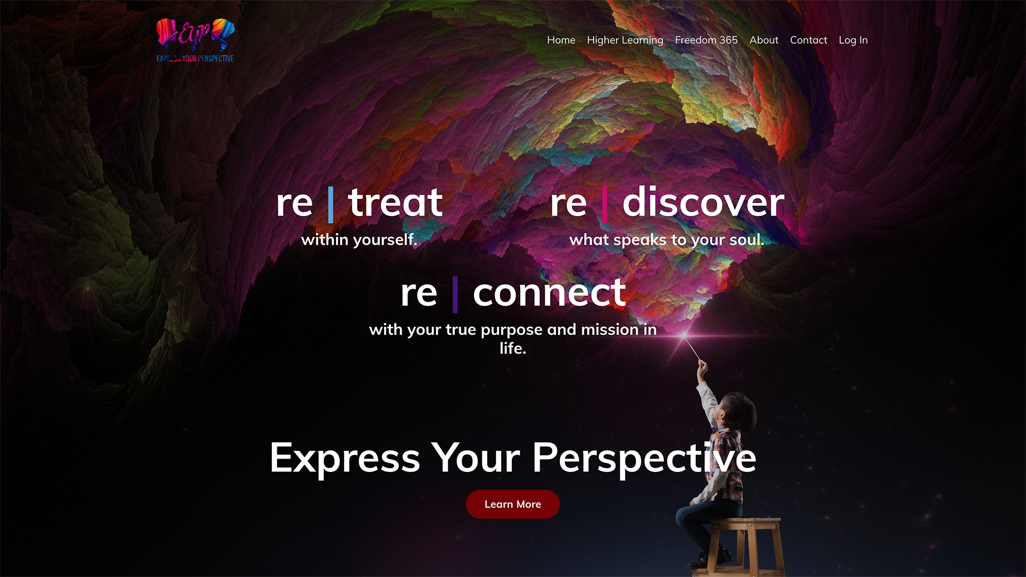 Wed Design and Content Done for Express Your Perspective