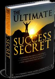 The Ultimate Success Secret Book Mockup