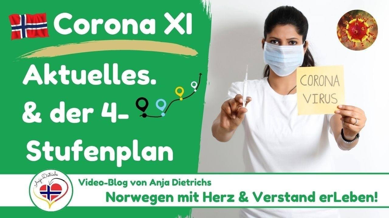 Videoblog vom 23.04.2021 - Corona in Norwegen, Teil 11